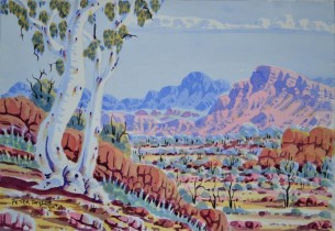 361-12 26x36cm Peter Taylor at Tali Gallery