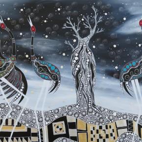 Brolga's Dancing by Melanie Hava