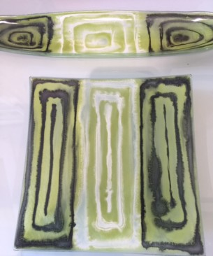 Lime Glass at Tali Gallery for Christmas