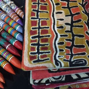Aboriginal crafts at Tali Gallery