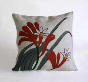 Kangaroo Paw Cushion Cover at Tali Gallery