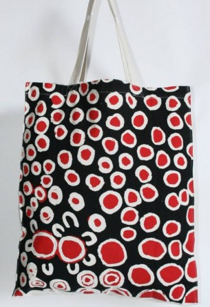 Wearing and living with Aboriginal Art - Practical Fair Trade Art Gifts at Tali Gallery 2