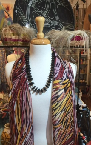 silk scarf at Tali Gallery Rozelle