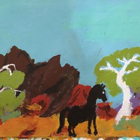 Wild Horses from Lance James - On Line Exhibition