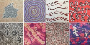 30x30cm-aboriginal-paintings-at-tali-gallery-rozelle