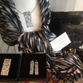 Aboriginal Artwork Jewellery and Silk Scarves