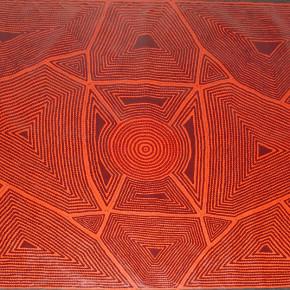 Red Diamonds - Contemporary Aboriginal Art in Red