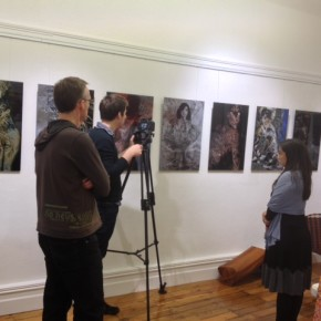 Filming on Intellectual Property for Indigenous Artists at Tali Gallery