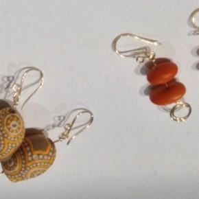 Handpainted Gumnut and Ininti Seed Jewellery