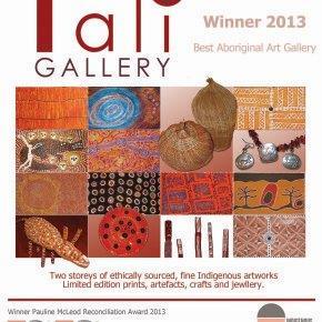 Best Aboriginal Art Gallery 2013
