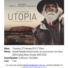 "Free Screening of  ""Utopia"""