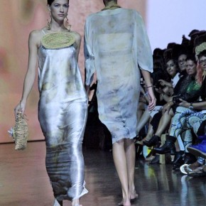 Aboriginal Art and Design on The Runway - Australian Indigenous Fashion Week