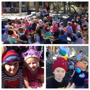 Nicholson Street's Beanie Parade to help the Indigenous Literacy Foundation