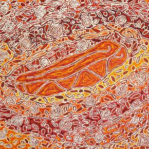 Vibrant Aboriginal Art - Paintings from the Desert