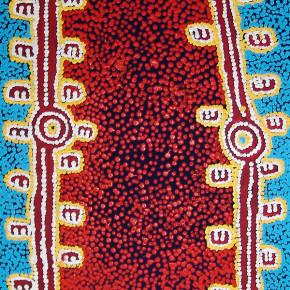 Warlpiri Drawings at the National Museum of Australia, Warlpiri Art available at Tali Gallery