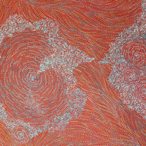 Exquisite Detail from a Young Urban Aboriginal Artist