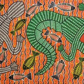 Collectible Aboriginal Art - Robert Campbell Jnr