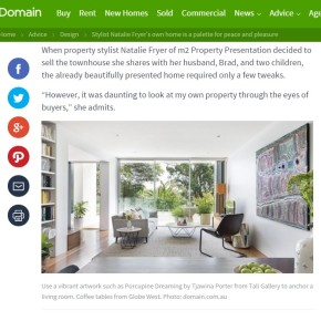 Domain Article with Tali Gallery Artwork