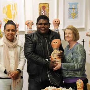 A Visit and Exhibition of Artwork from Girringun Community