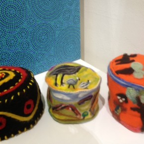 Beanie Festival in Sydney - Alice Springs Museum Pieces on Display at Tali Gallery