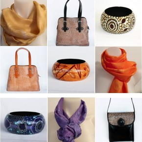 New Aboriginal Art Accessories and Homewares in the Tali Gallery Shop