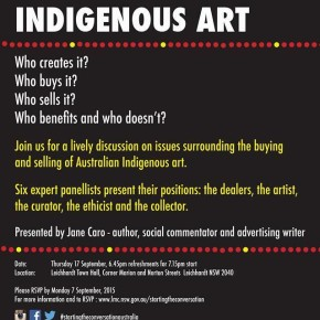 Ethical Trading in Indigenous Art